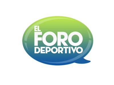 Logo Foro Deportivo design typography vector logo icon branding