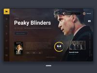 UI Cinematic Design Peaky Blinders