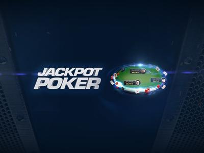 Jackpot Poker Composition web animation logo design branding