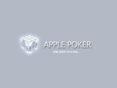 Apple Poker Logo 2008 branding design logo