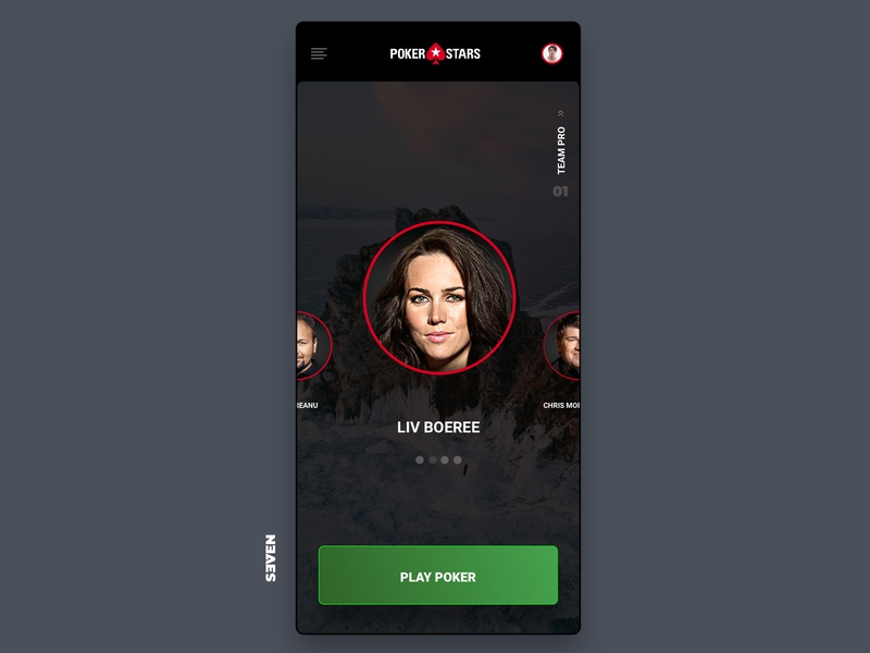 UI Poker Stars Design ux app website icon flat web ui design branding