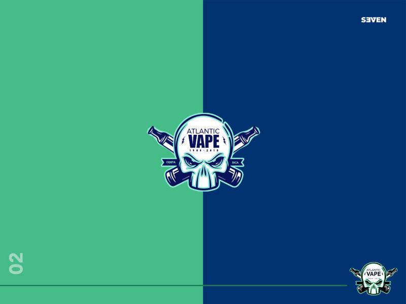 Vape Logo illustration vector design logo