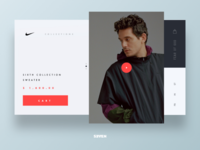Fear of God Nike Collection UI