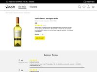 Vinom Online store