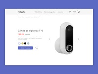 Vcam product page