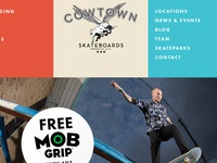 Cowtown Skateboards Redesign