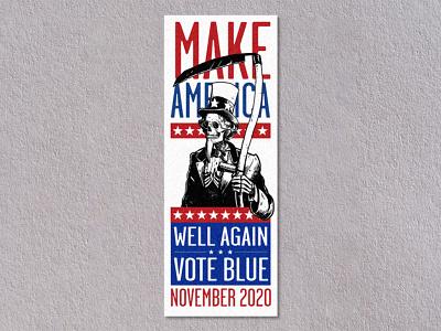 Make America Well Again: Protest Stamps portfolio stamp postal protest donald trump protest postage