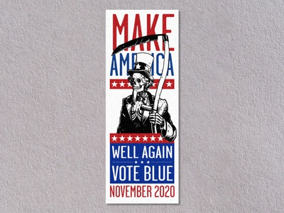 Make America Well Again: Protest Stamps