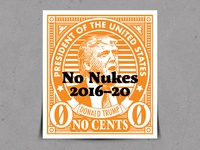 Trump Pre-Cancel Stamp