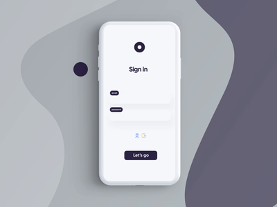 Login WIP Interaction animation interaction animation interactiondesign haptics interaction design video ux design