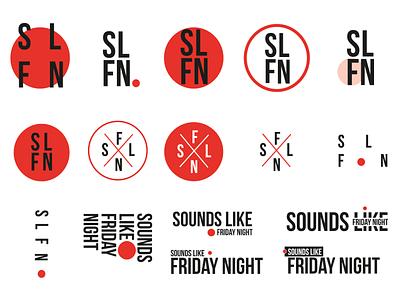 Sounds Like Friday Night Branding video sign mark grid typography brandbook bbc logo icon tv logo design brand identity product branding broadcast