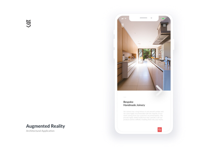 AR Architectural App building iphone x architecture ui ux application ar interaction ios