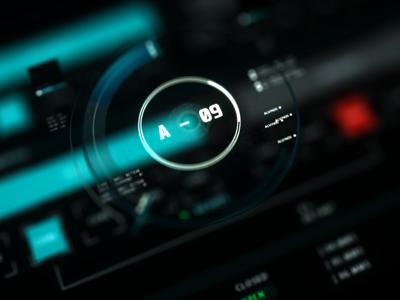 A-09 Repair Module illustration motion design graphic design development film user interface ui scifi 3d fui