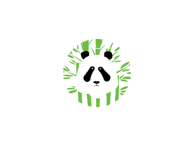 Panda Bamboo - Daily Logo Challenge Day 3