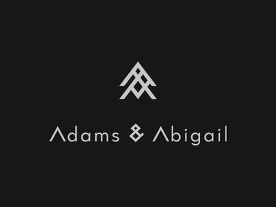 Adams & Abigail - Daily Logo Challenge