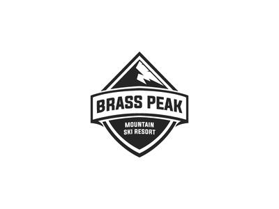 Brass Peak - Daily Logo Challenge