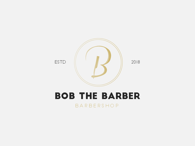 Bob The Barber - Daily Logo Challenge