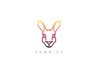 Sunnies Logo custom typography kangaroo logo design challenge logo daily dailylogochallenge sunnies
