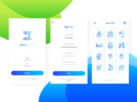 Icon Store Application UI