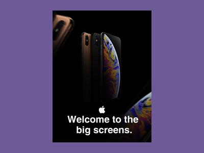 """Apple iPhone Xs"" Advertising"