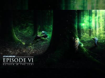 """Star Wars VI """"Battle of Endor"""""""