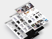 Redesign of HustleHat Ecommerce Store
