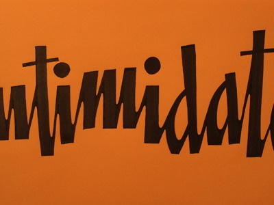 New Lettering lettering typography