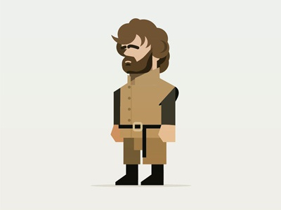Tyrian Lannister WIP character illustration tyrian the imp got game of thrones tyrian lannister