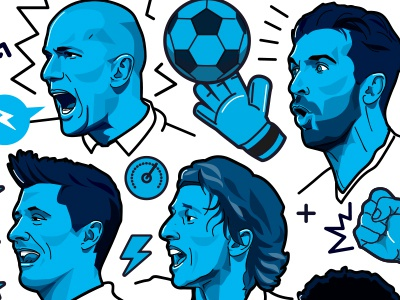 ESPN FC 100 - Image 1 bayern munich juventus real madrid lewandowski buffon zidane soccer football espn