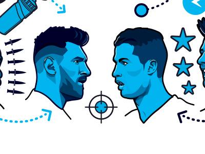 ESPN FC 100 - Image 2 barcelona real madrid messi ronaldo soccer football espn