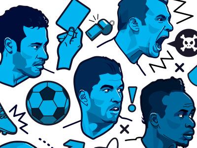 ESPN FC 100 - Image 3 psg liverpool bayern munich barcelona neuer suarez neymar soccer football espn