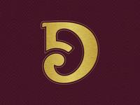 Custom Letter 'D'
