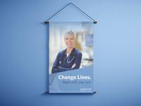 Banner for Hospital Recruitment
