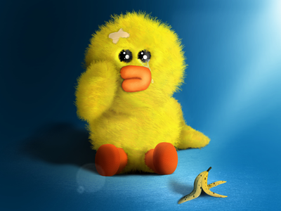 Sally duck - Digital painting - character design illustration draw painting cute duck character design digital art ipad pro procreate digital painting character sally duck