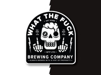 WTF Brewing - WIP label comps