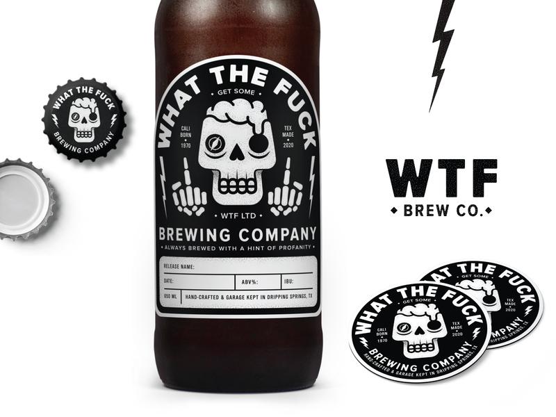 WTF Brewing - Final label