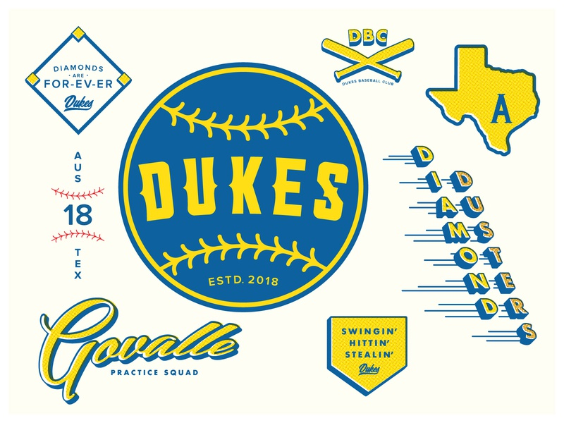 Dukes Baseball Club - Logo & Assets