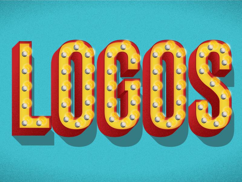 The bright lights of logo design