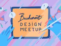 Bucharest Design Meetup Illustration