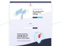 Sentrum website homepage