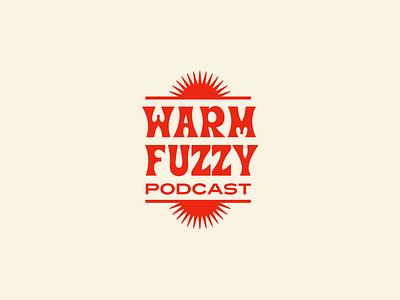 Warm + Fuzzy brand identity mark logo