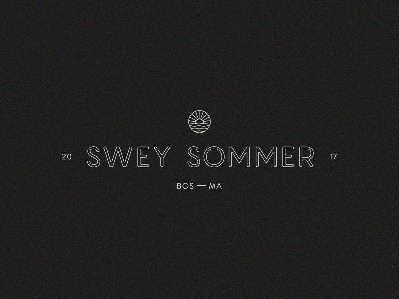 Swey Sommer logo branding