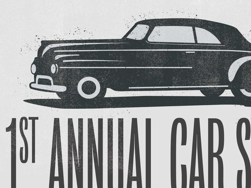 Car show Illustration carshow car illustraion