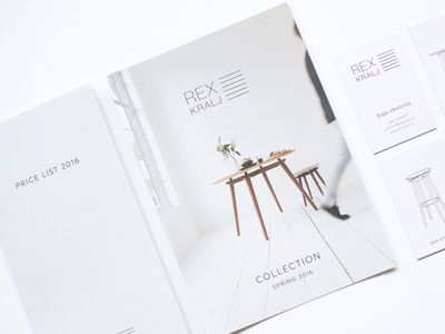 Rex Kralj - Printed matter
