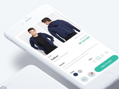 Ecommerce App - Product Detail app design online shop shop product detail ui design ecommerce
