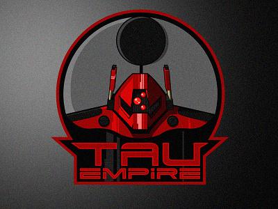 Tau Empire design commander soulstorm empire warhammer mascot technology tech robot tau