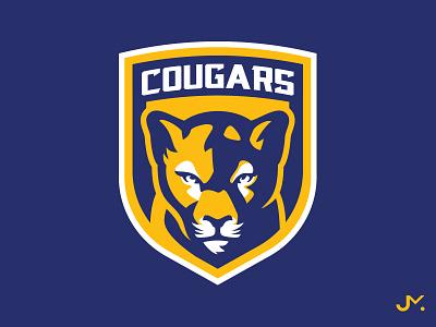 Cougars vector cougars cougar design illustration esport sports gaming logo mascot