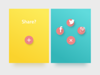 Daily UI #010 Social Share