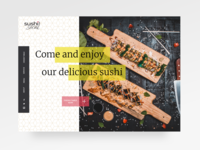 Frontpage idea for Sushi Social