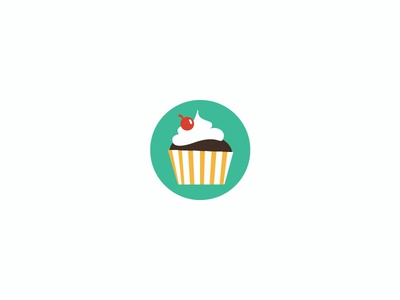 Cupcake Vector Icon [Download]